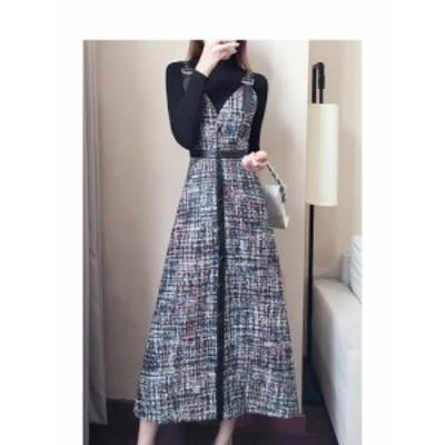 40代のファッションレディース ワンピースドレス ワンピースロング ワンピース秋 ワンピース 大きい 大きいサイズのレディースワンピース
