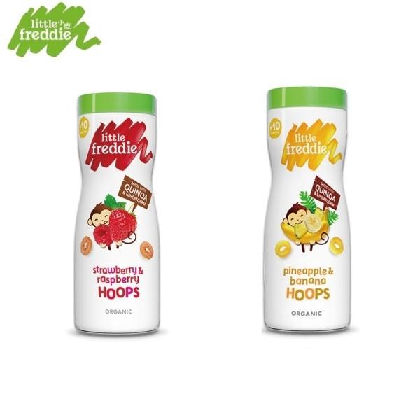 Little freddie 小皮 圈圈餅-莓果/鳳梨香蕉