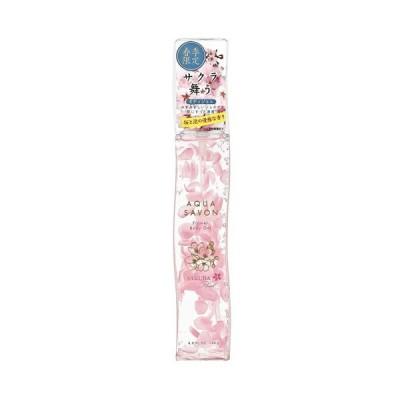 アクアシャボン フラワーボディジェル サクラフローラルの香り 20S 140g AQUA SAVON