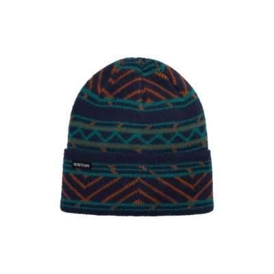 Burton / ジャガードデザイン ニット帽 MEN 帽子 > ニットキャップ/ビーニー