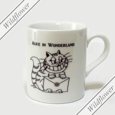 チェシャ猫マグカップ 小 /猫雑貨のワイルドフラワー