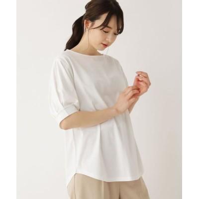 SHOO・LA・RUE/シューラルー 【M-L】タックスリーブプルオーバー オフホワイト(003) 03(L)
