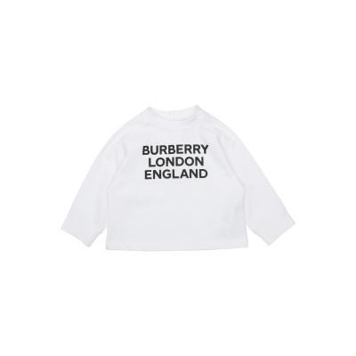 BURBERRY T シャツ ホワイト 18 コットン 100% / ポリウレタン T シャツ