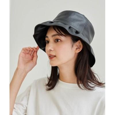 ROPE' PICNIC / エコレザーフリルハット WOMEN 帽子 > ハット