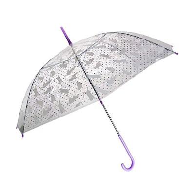99088/ジップコーポレーション/おめかしアンブレラ(キャット・ホワイト)/傘/雨/梅雨/レイン/グッズ/大人/婦人/ギフト/プレゼント