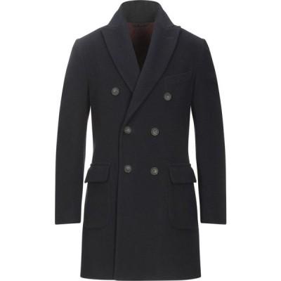 イーヴォ HEVO メンズ コート アウター coat Dark blue