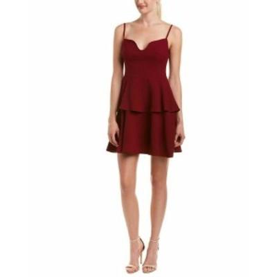 Red  ファッション ドレス Black Halo Mini Dress 2 Red