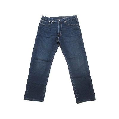 【中古】リーバイスプレミアム Levis PReMIUM 505 デニム パンツ ジーンズ ストレート ブルー W36 ボトムス メンズ 【ベクトル 古着】