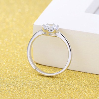 Women's Cubic Zirconia Anniversary Wedding Band Engagement Ring Sets 9