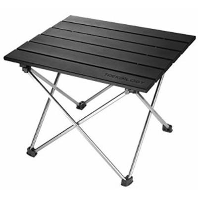 Trekology ポータブル キャンプ サイドテーブル アルミ製 テーブルトップ:(未使用品)