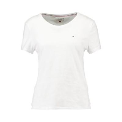 トミーヒルフィガー レディース Tシャツ トップス ORIGINAL SOFT TEE - Basic T-shirt - classic white classic white