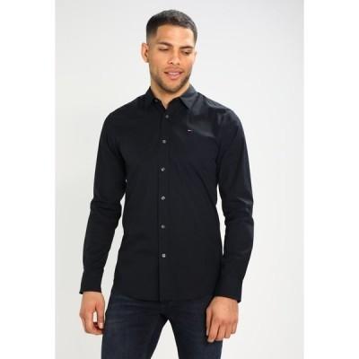 トミーヒルフィガー シャツ メンズ トップス ORIGINAL STRETCH SLIM FIT - Shirt - black
