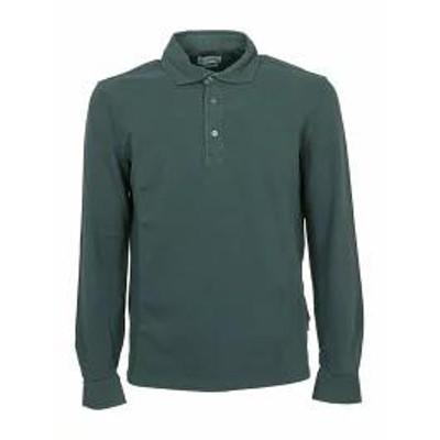 Ballantyne メンズシャツ Ballantyne Long-sleeved Polo Shirt