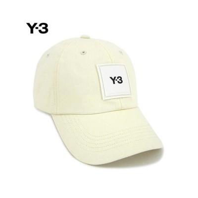 ワイスリー/Y-3 ユニセックス キャップ Y-3 SQUARE LABEL CAP H15772 CWHITE/21ss