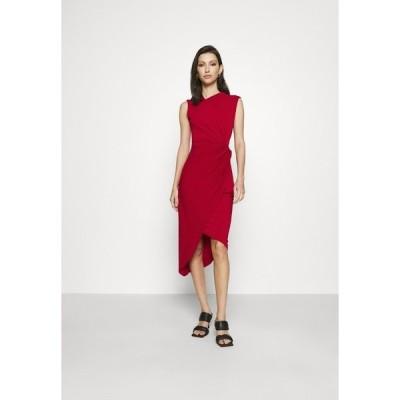 ヴァル ジー ワンピース レディース トップス SIDE KNOT DRESS - Cocktail dress / Party dress - cherry
