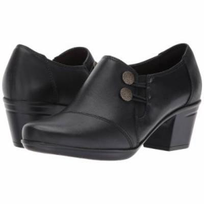 クラークス ヒール Emslie Warren Black Leather