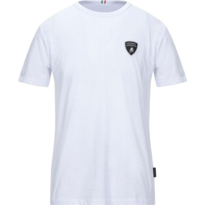 ランボルギーニ AUTOMOBILI LAMBORGHINI メンズ Tシャツ トップス t-shirt White