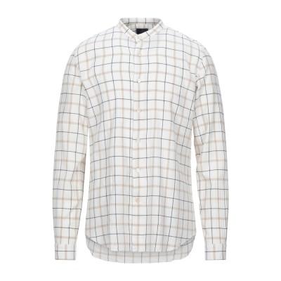 ALESSANDRO GHERARDI シャツ ホワイト 41 コットン 98% / ポリウレタン 2% シャツ