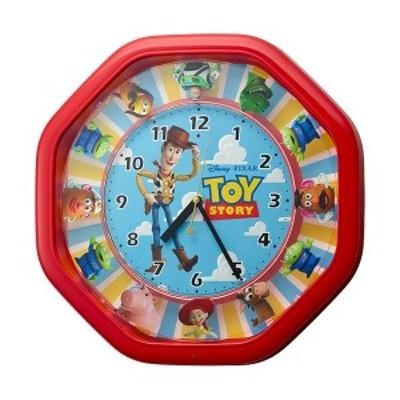 リズム時計 トイ・ストーリー からくり おしゃべり メロディ 掛時計 ディズニー ピクサー 4MH440MC01 RHYTHM 正規品