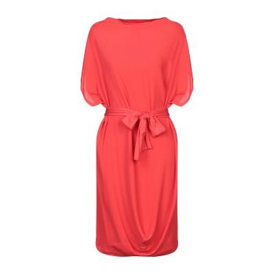 MARIELLA ROSATI ミニワンピース&ドレス レッド 40 レーヨン 100% / ポリウレタン ミニワンピース&ドレス