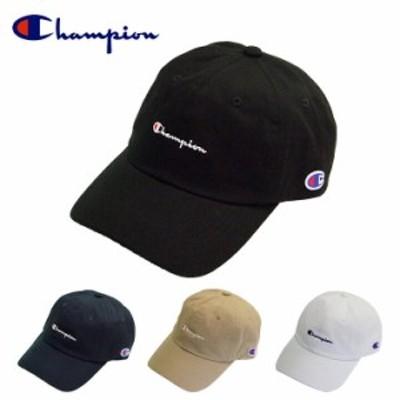 Champion チャンピオン ローキャップ ツイル 帽子 4color 57-59cm/メンズ:レディース