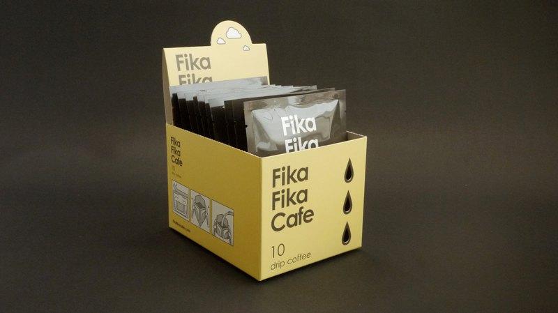 FikaFikaCafe 10入盒裝驚喜掛耳包