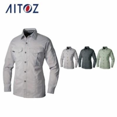 AZ-11202 アイトス 長袖シャツ | 作業着 作業服 オフィス ユニフォーム メンズ レディース