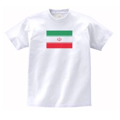 イラン 国 国旗 Tシャツ