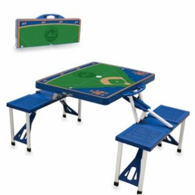 Picnic Time ピクニック タイム スポーツ用品  New York Mets Picnic Table - Royal Blue