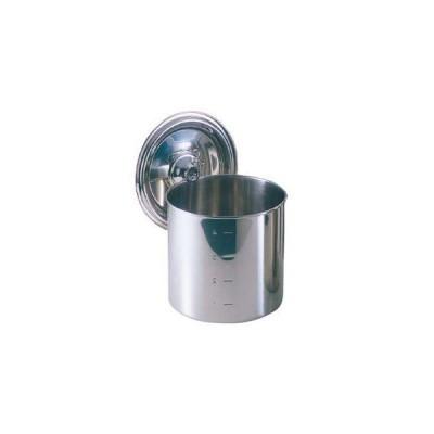 【まとめ買い10個セット品】 EBM 18-8 キッチンポット/寸胴鍋(目盛付)10cm 手無【 ガス専用鍋 】