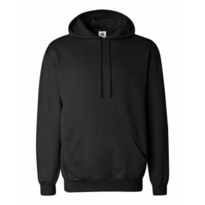 ファッション トップス Badger Mens Hooded Fleece 1254 XS-4XL