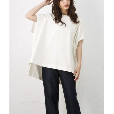 tシャツ Tシャツ ポンチョシルエット 半袖Tシャツ