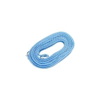 ds-2258543 洗濯ロープ ハンガーストップ 5m 【100個セット】 巾1.7×500cm 〔旅行 宿泊 出張 合宿〕 (ds2258543)