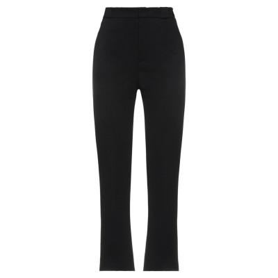 メルシー ..,MERCI パンツ ブラック 40 レーヨン 65% / ナイロン 32% / ポリウレタン 3% パンツ
