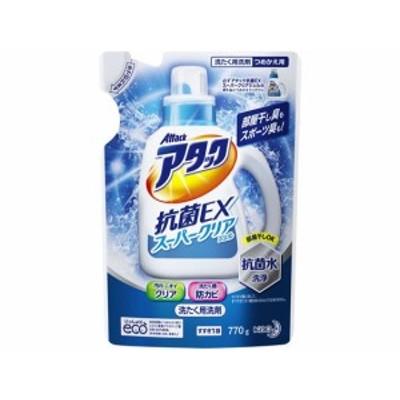 アタック抗菌EX スーパークリアジェル つめかえ用 770g KAO