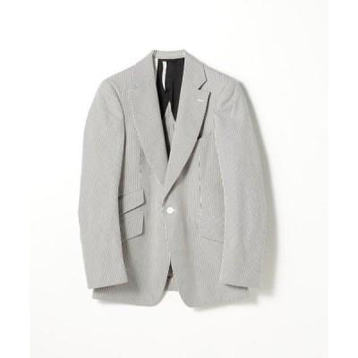 ジャケット テーラードジャケット 【別注】LE VERNEUIL コットンコードレーン テーラードジャケット