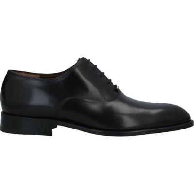 フラテッリ ロセッティ FRATELLI ROSSETTI メンズ 革靴・ビジネスシューズ シューズ・靴 Laced Shoes Black