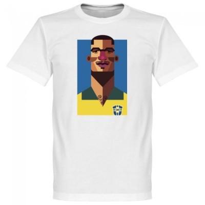 ブラジル代表 ジジ Tシャツ SOCCER プレイメーカー ホワイト