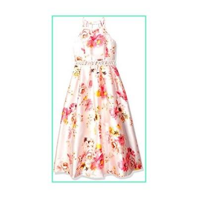 Speechless Big Girls 7-16 High Neck Full Length Maxi Formal Party Dress, Ivory Black, 8並行輸入品