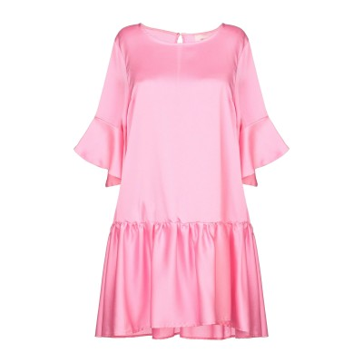 VICOLO ミニワンピース&ドレス ピンク M ポリエステル 100% ミニワンピース&ドレス