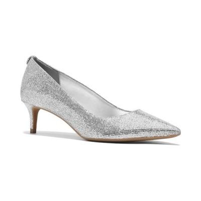 マイケルコース パンプス シューズ レディース Flex Sara Pumps Silver Glitter