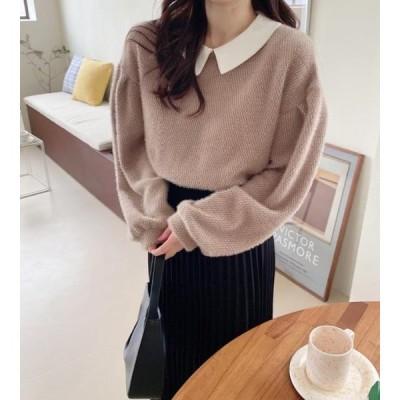 monodaily レディース ニット/セーター Make-up Knit