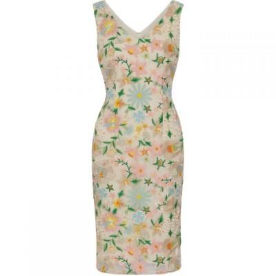 ジーナ バッコーニ Gina Bacconi レディース ワンピース ワンピース・ドレス Lucile Embroidered Dress Multi-Coloured