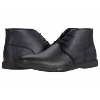Calvin Klein カルバンクライン メンズ 男性用 シューズ 靴 ブーツ チャッカブーツ Teddy Black【送料無料】