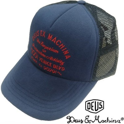 Deus ex Machina デウス エクスマキナ メンズ レディース 兼用 キャップ スナップバック BLEACHED VENICE CAP エステート ブルー  デウスエクスマキナ アメカジ