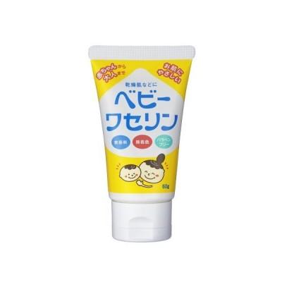 保湿クリームベビーワセリン 60g(乾燥肌 パラベンフリー)