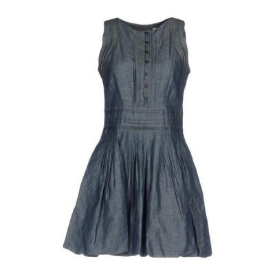 ERMANNO DI ERMANNO SCERVINO デニムドレス ファッション  レディースファッション  ドレス、ブライダル  パーティドレス ブルー