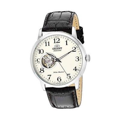 オリエント Orient 腕時計 Men's Esteem II Leather Band Open Heart Skeleton Automatic Watch 日本製自動巻 RA-AG0010S10A メンズ