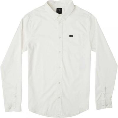 ルーカ RVCA メンズ シャツ トップス That'll Do Stretch Long - Sleeve Shirt White