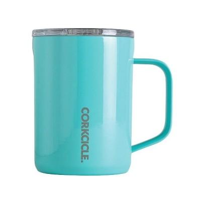 【バックヤードファミリー】 コークシクル コーヒーマグ CORKCICLE 16oz 400ml ユニセックス ブルー マグカップ BACKYARD FAMILY